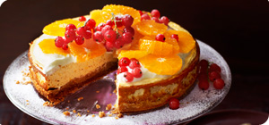 Baked vanilla and clementine cheesecake - Recipes ...