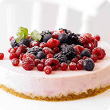 Berry burst cheesecake