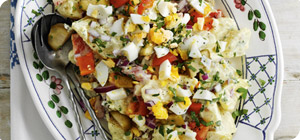 Country style potato salad