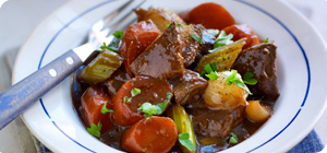 Irish beef and Guinness casserole