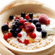 Mixed berry porridge