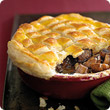 Steak and mushroom pie